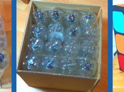 Cómo hacer un puff con botellas de plástico – Otorgo Envases